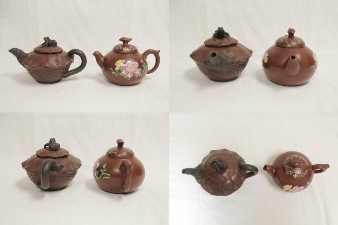 2 Yixing teapot - 2