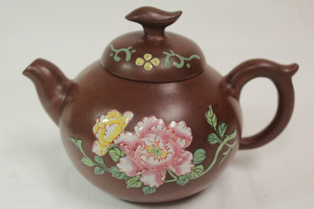 2 Yixing teapot - 8