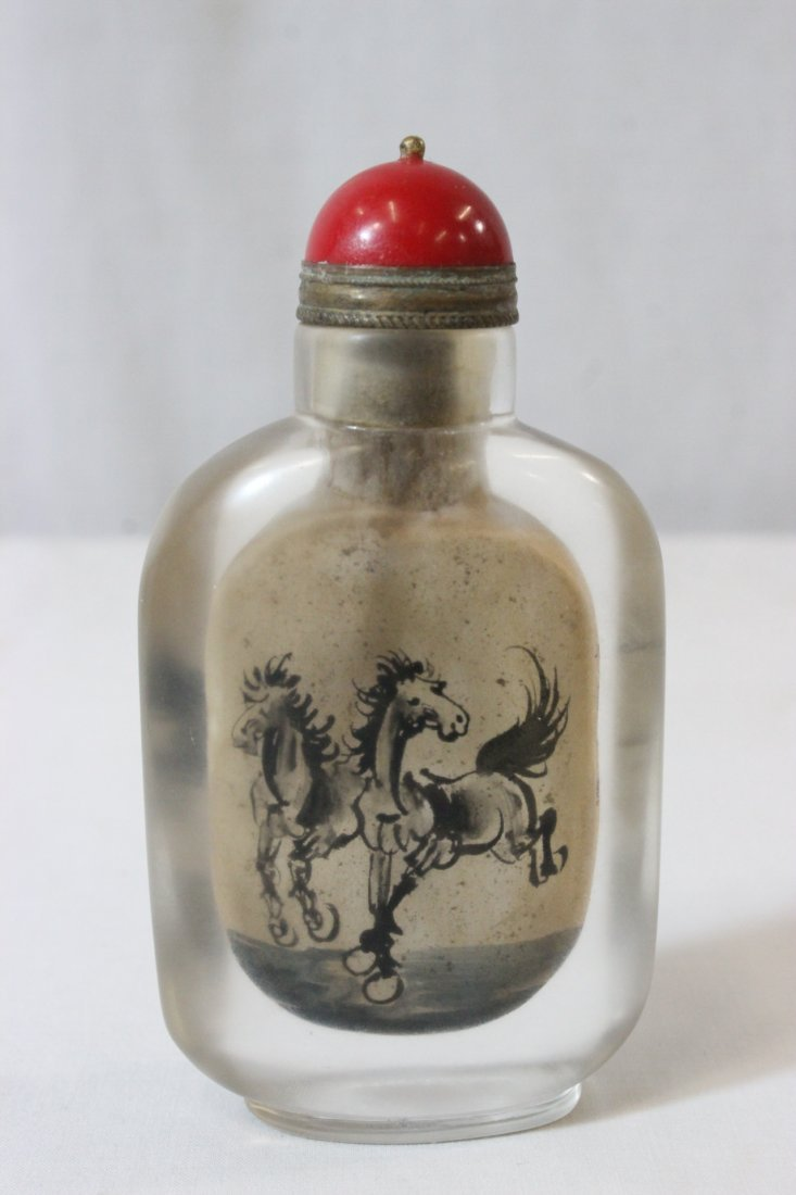 2 Chinese snuff bottles - 6