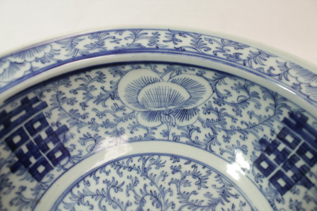 Chinese antique blue and white bowl - 7