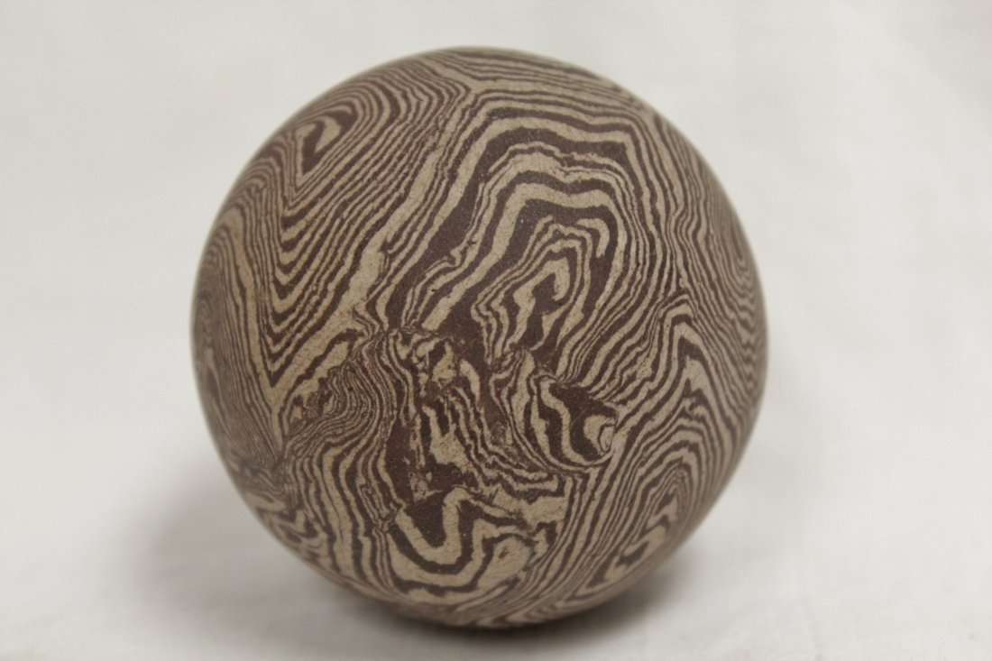 Marble glazed ball - 5