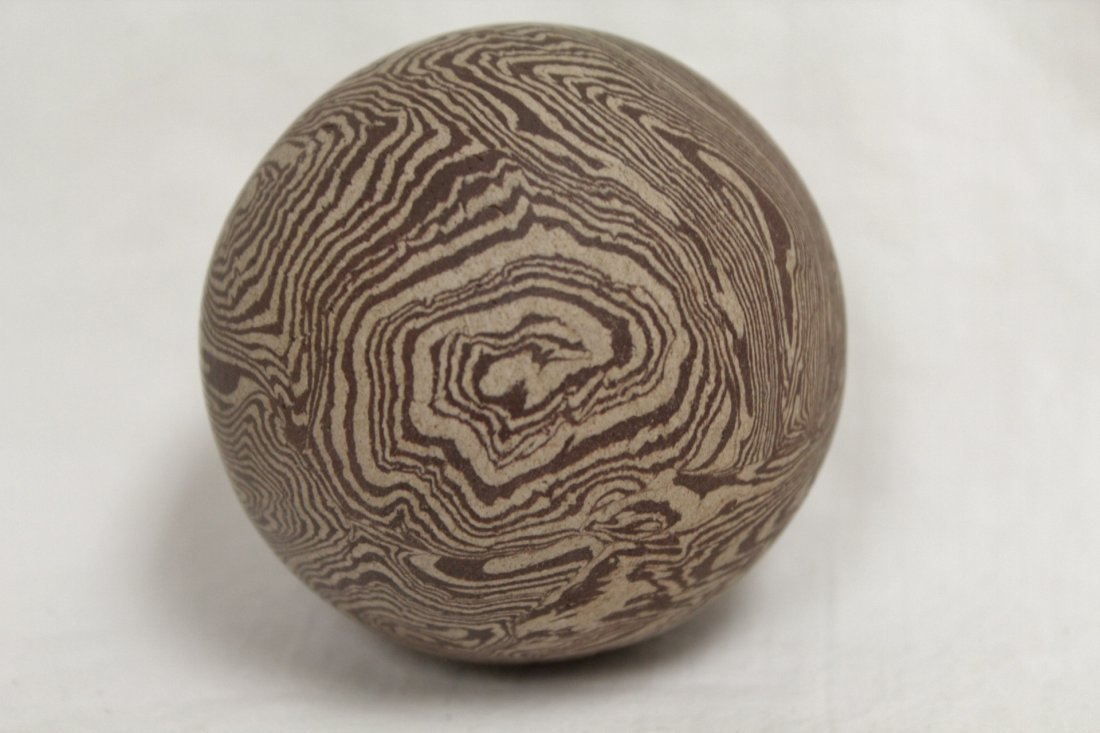 Marble glazed ball - 6