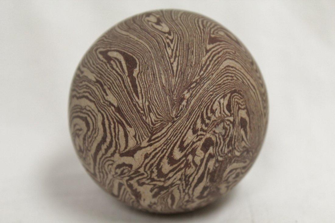 Marble glazed ball - 7