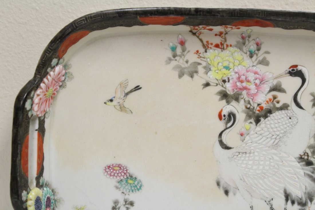 Japanese 17th/18th c. Kakiemon porcelain tray - 2