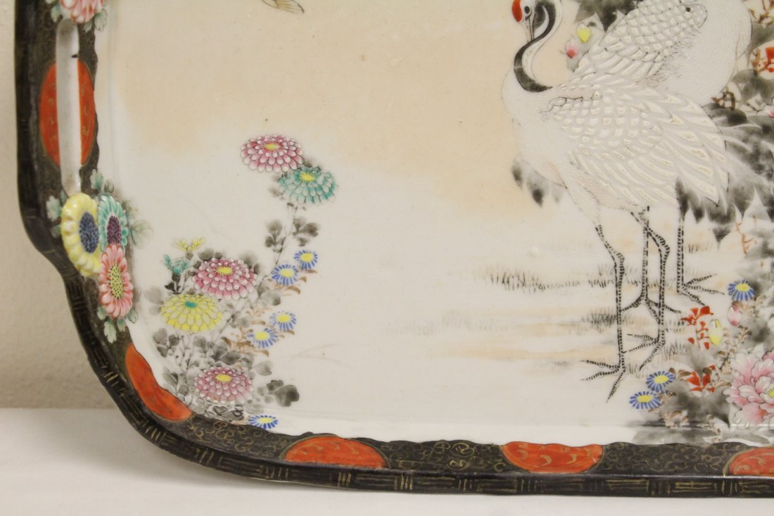 Japanese 17th/18th c. Kakiemon porcelain tray - 3