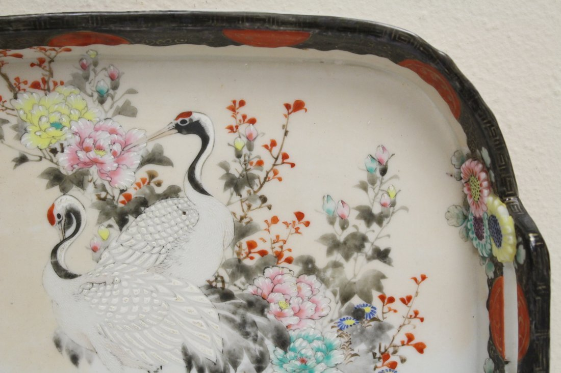 Japanese 17th/18th c. Kakiemon porcelain tray - 4