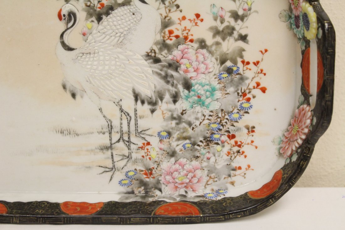 Japanese 17th/18th c. Kakiemon porcelain tray - 5