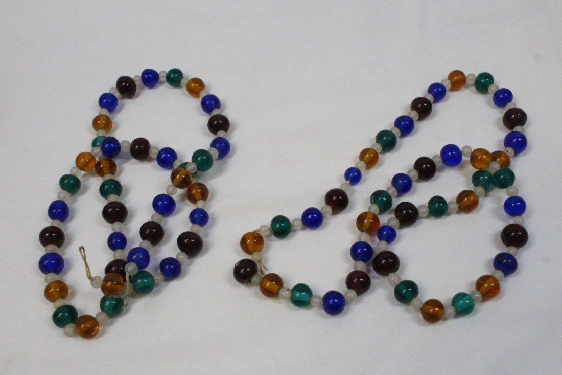 3 loose necklaces - 8
