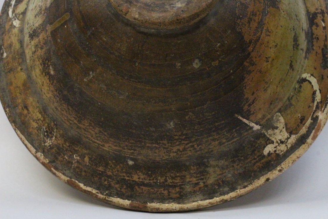 Chinese antique sancai pottery bowl - 10