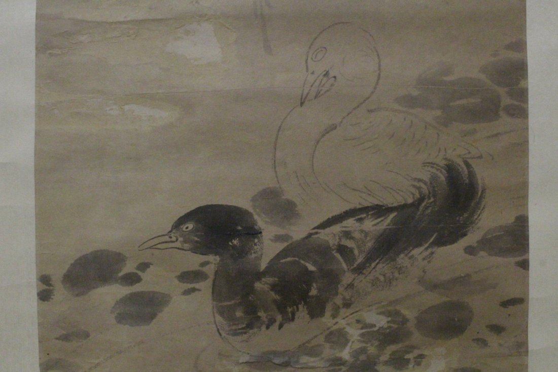 Chinese watercolor on rice paper by Pu Ru - 5