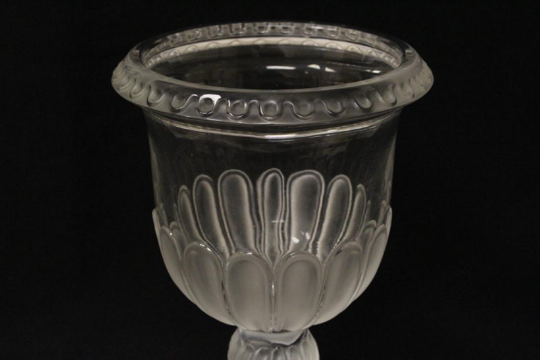 2 crystal compote vasesby Lalique - 7