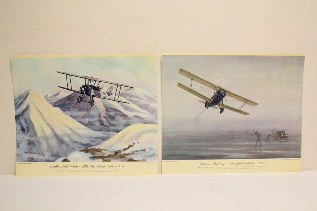12 color lithographs by Charles Hubbell - 3