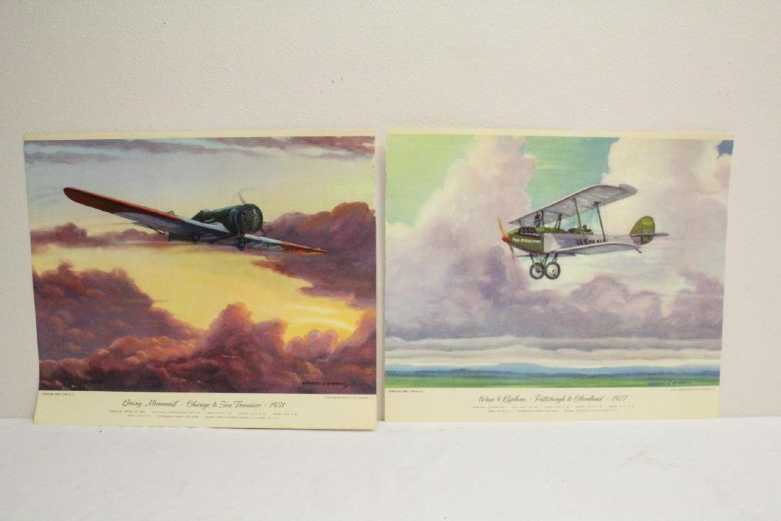 12 color lithographs by Charles Hubbell - 5