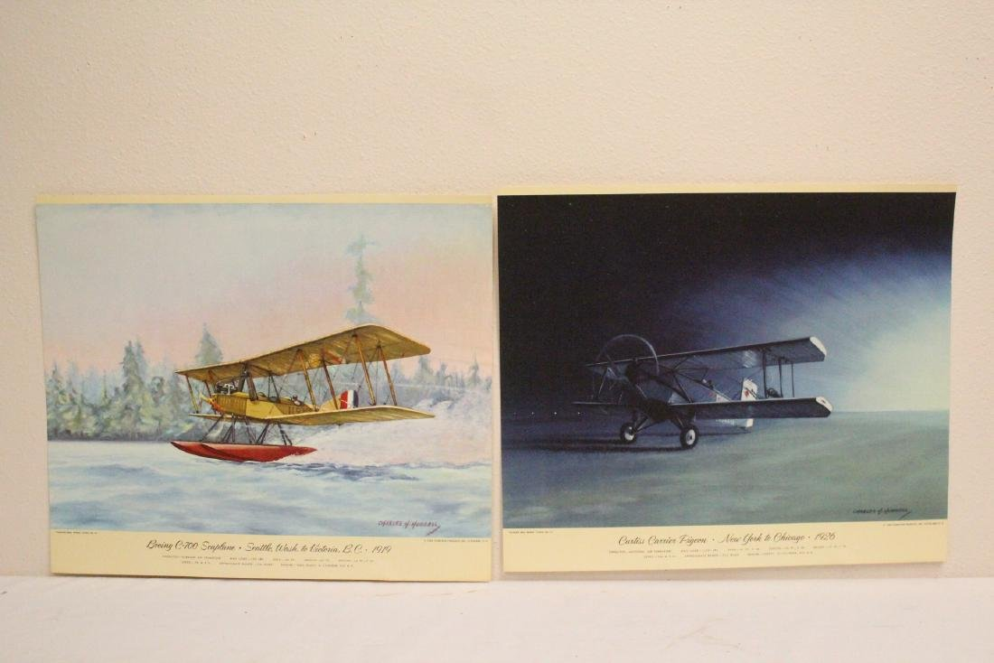 12 color lithographs by Charles Hubbell - 6