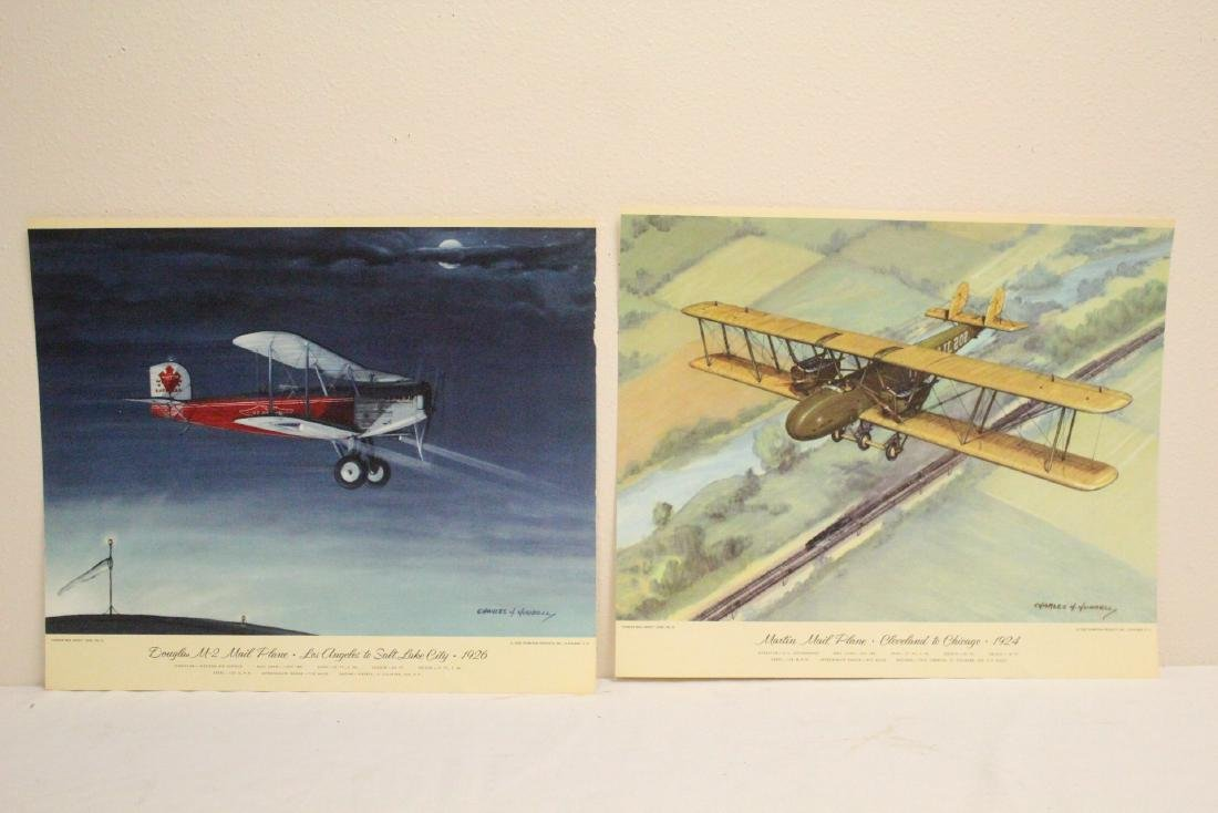 12 color lithographs by Charles Hubbell - 7