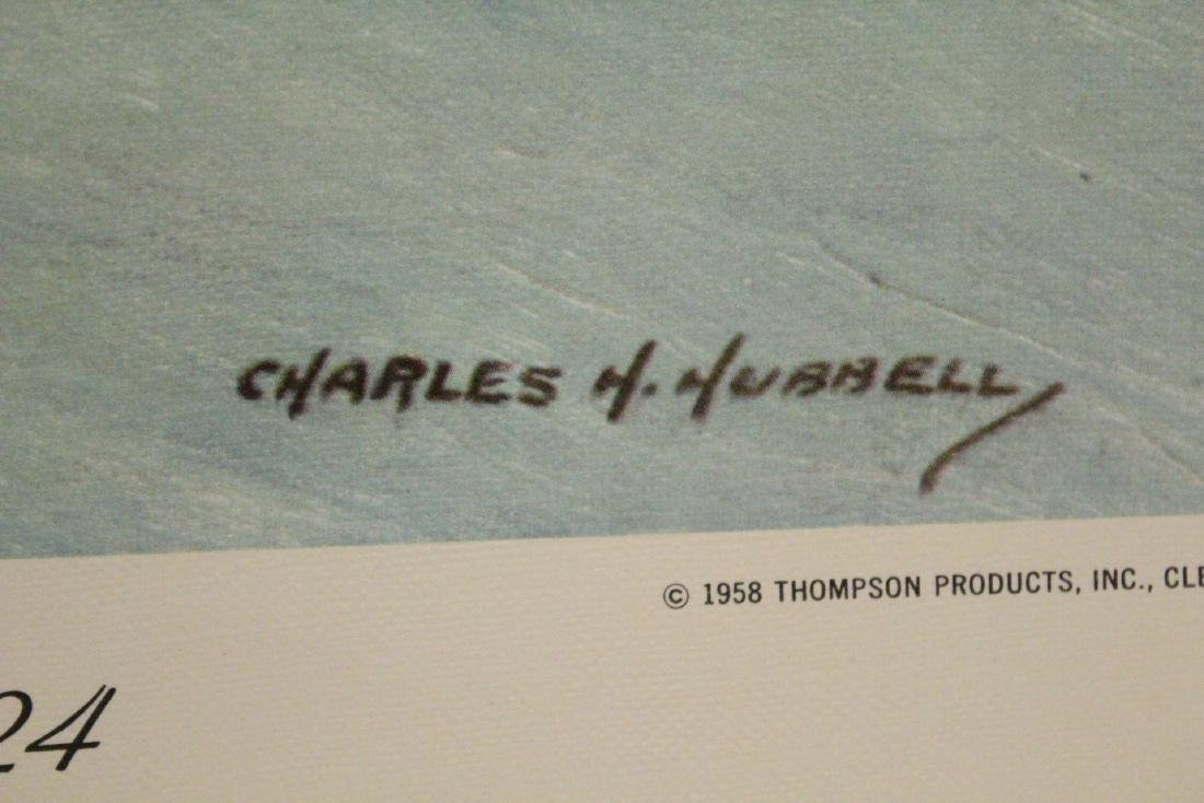 12 color lithographs by Charles Hubbell - 8