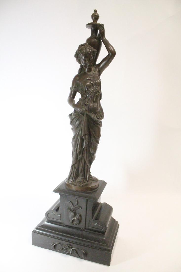 Antique European bronze sculpture - 10