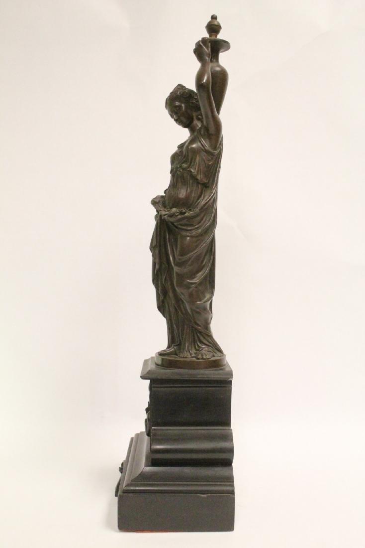 Antique European bronze sculpture - 2