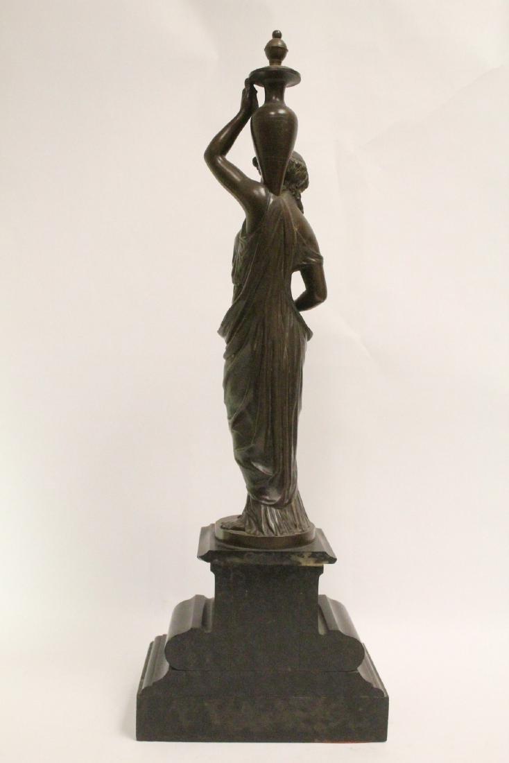 Antique European bronze sculpture - 3