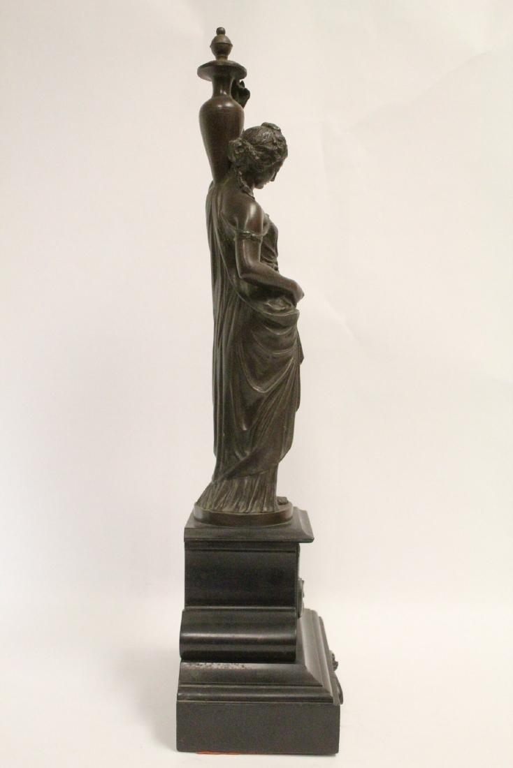 Antique European bronze sculpture - 4