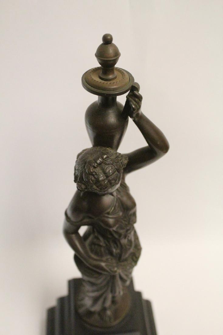 Antique European bronze sculpture - 5
