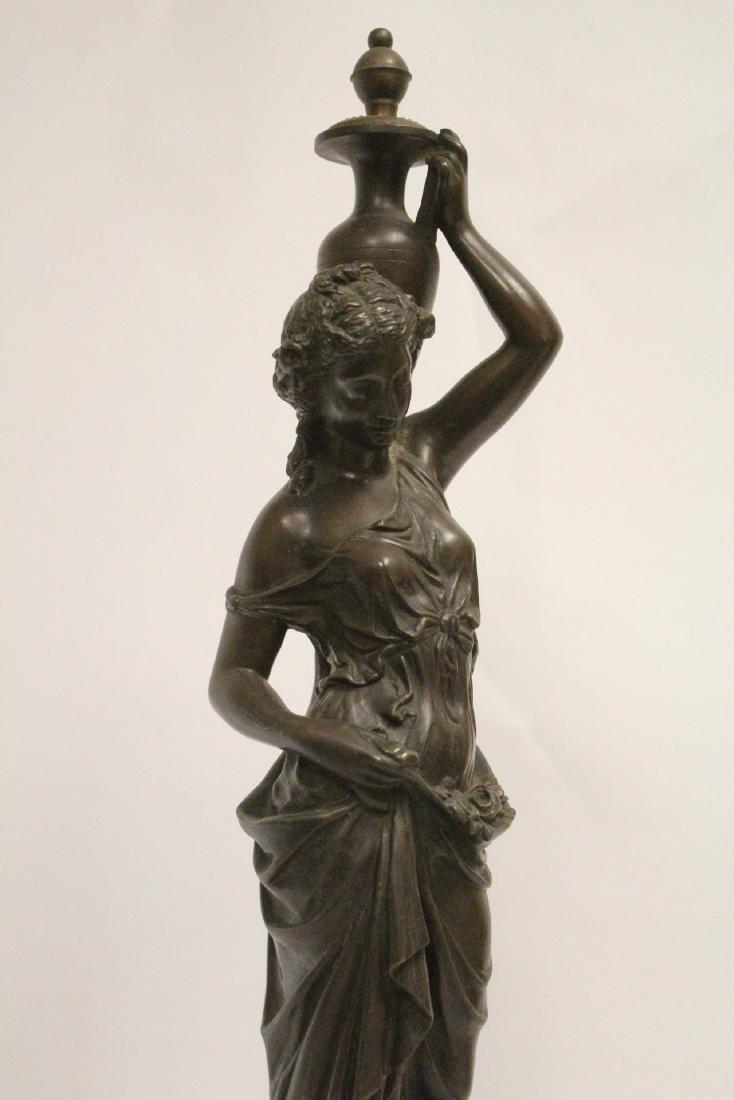Antique European bronze sculpture - 6