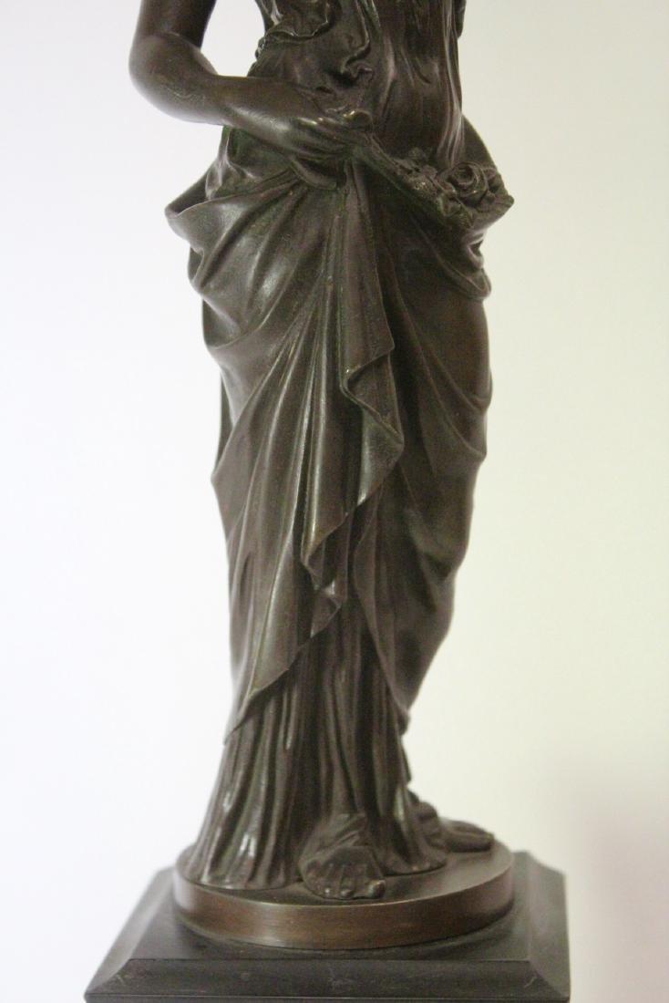 Antique European bronze sculpture - 7
