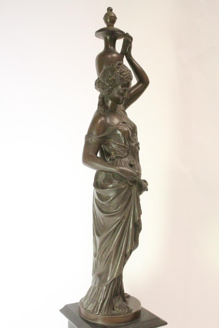 Antique European bronze sculpture - 8