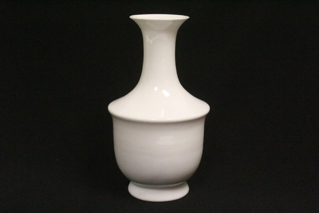 Chinese white porcelain vase