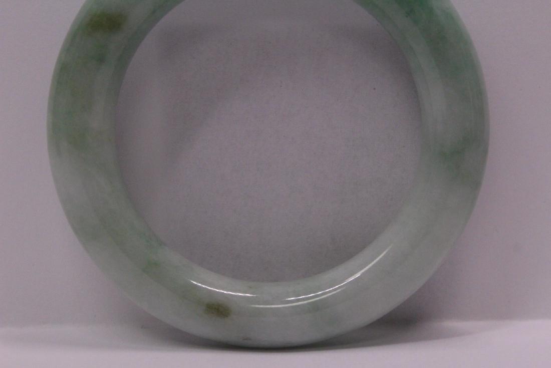 natural color jadeite bangle bracelet - 10