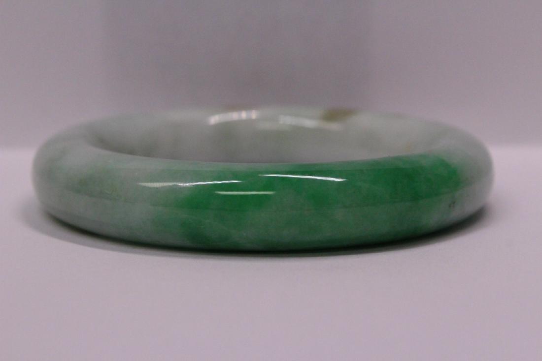 natural color jadeite bangle bracelet - 7