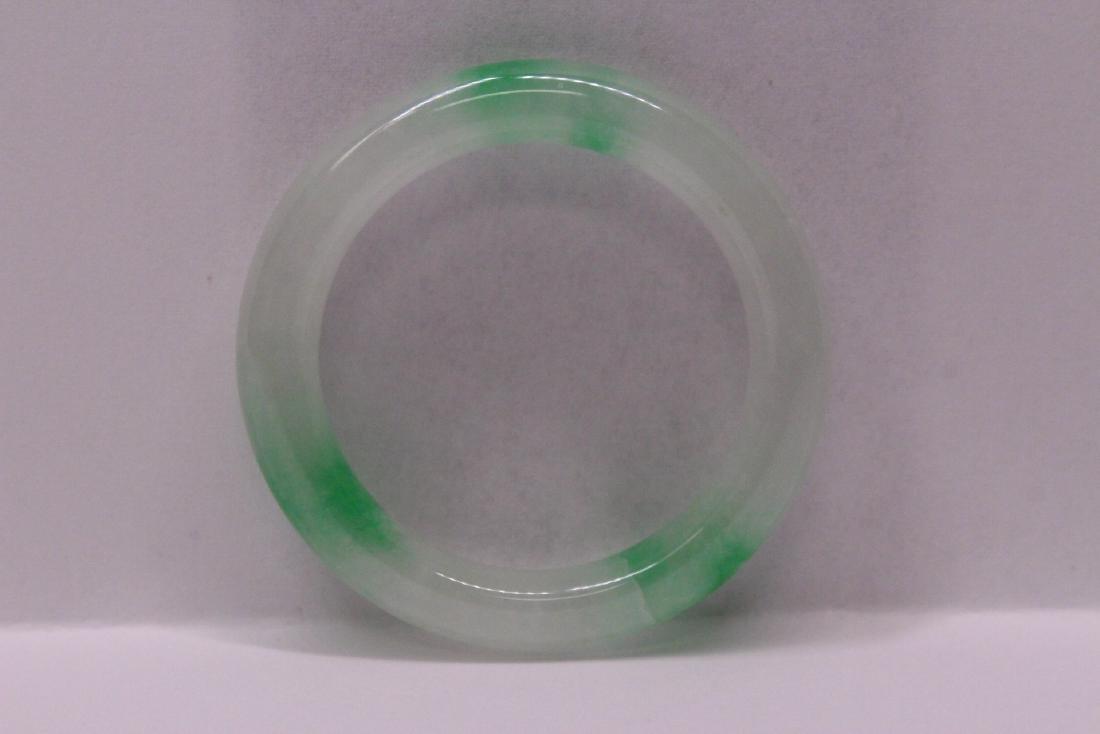 Chinese jadeite children bangle bracelet