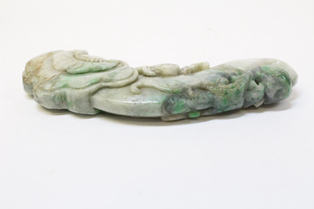 Chinese jadeite carved ornament - 2