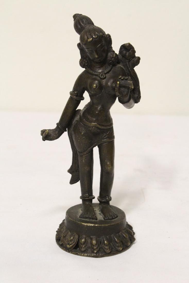 2 Tibetan bronze sculpture of Buddha - 6