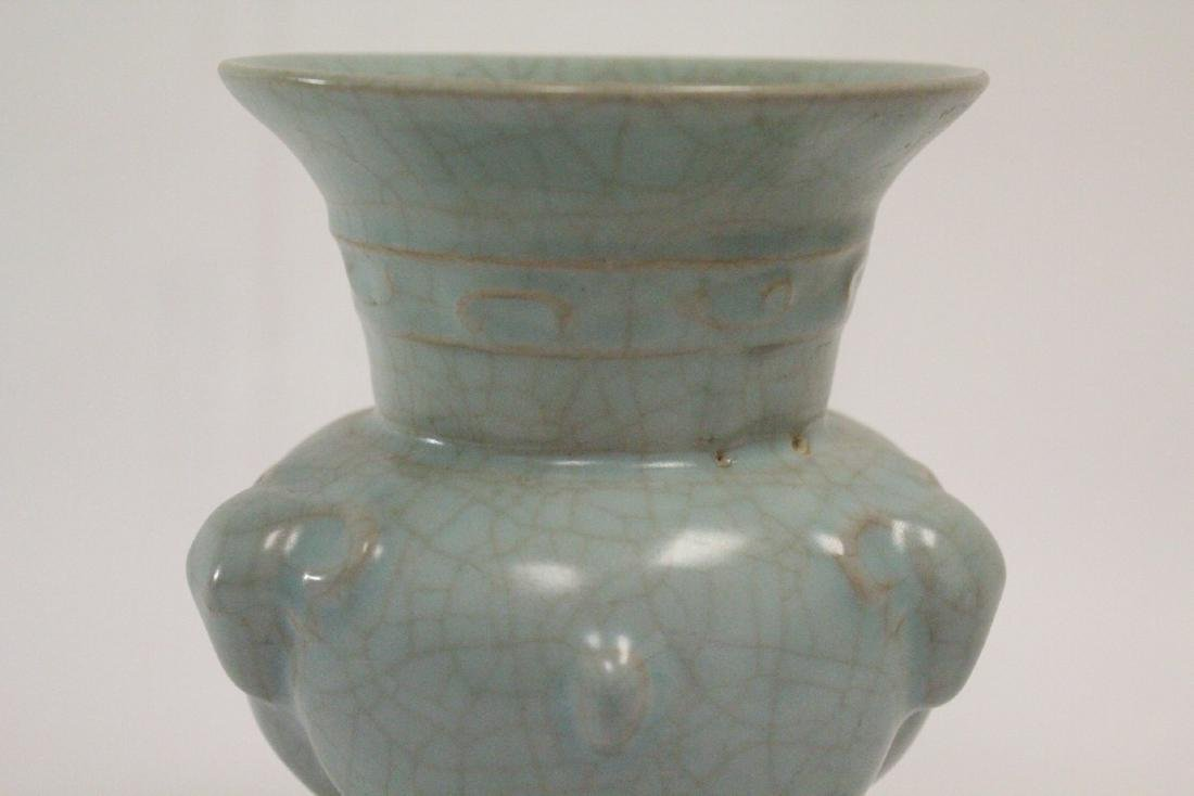 Chinese Song style porcelain censer - 8