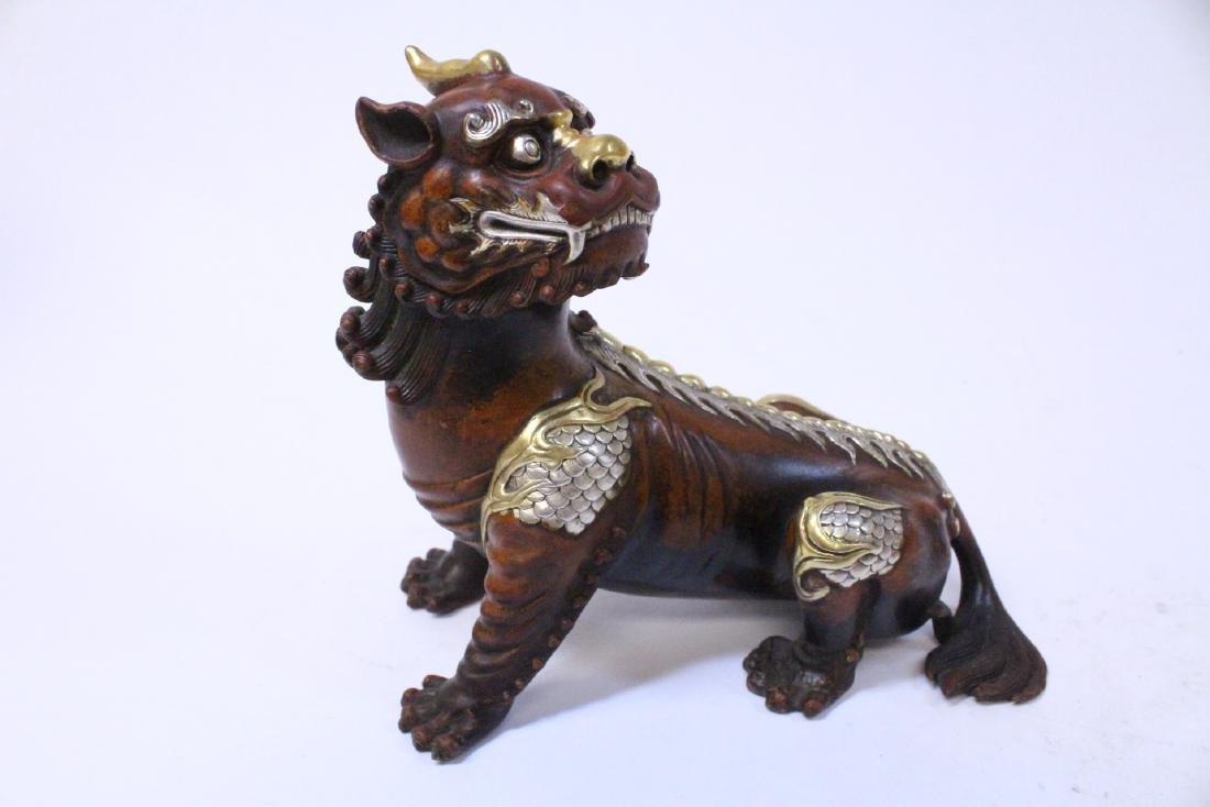 Chinese bronze qilin