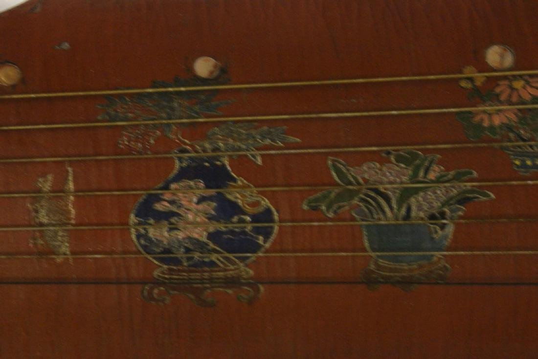 Chinese lacquer music instrument - 6