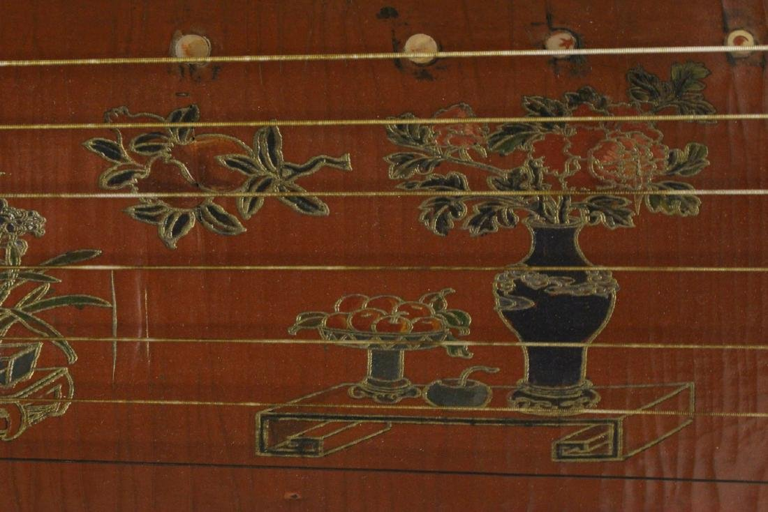 Chinese lacquer music instrument - 7