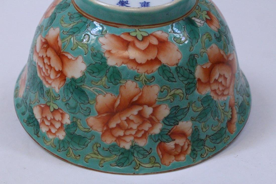 Chinese famille rose porcelain bowl - 8