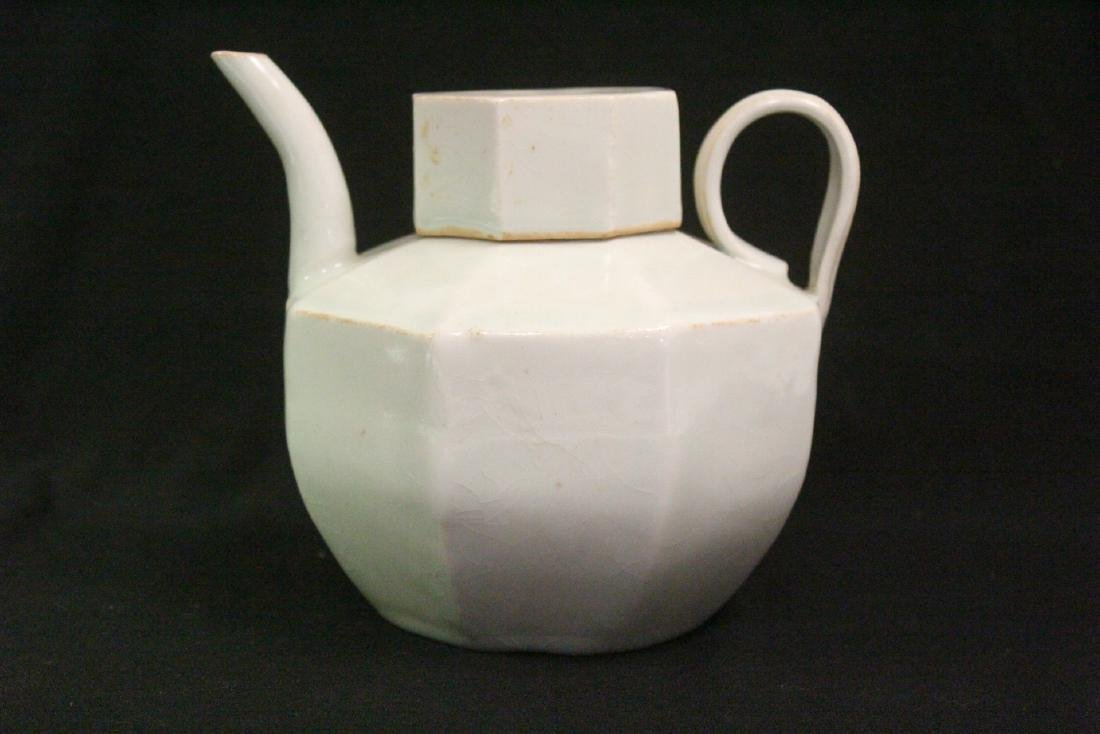 Chinese Song style celadon porcelain teapot