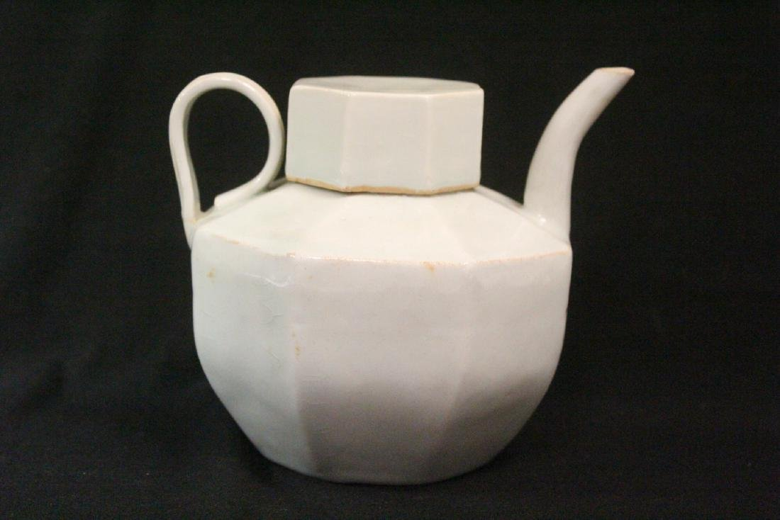 Chinese Song style celadon porcelain teapot - 3
