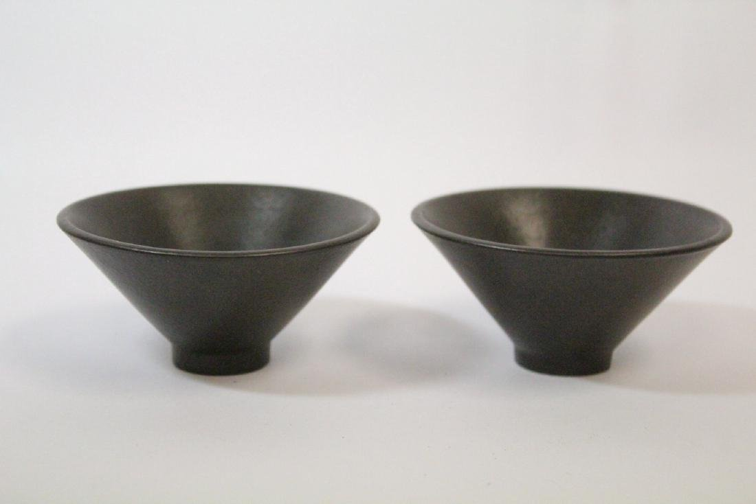 2 Chinese Song style tea bowls - 2
