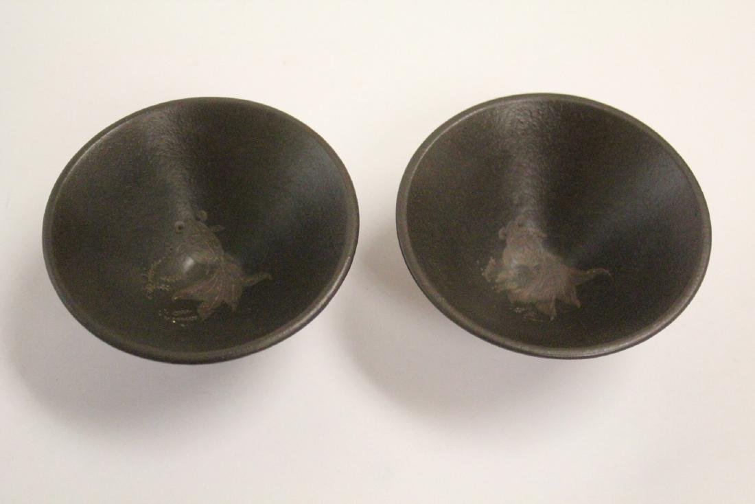 2 Chinese Song style tea bowls - 3