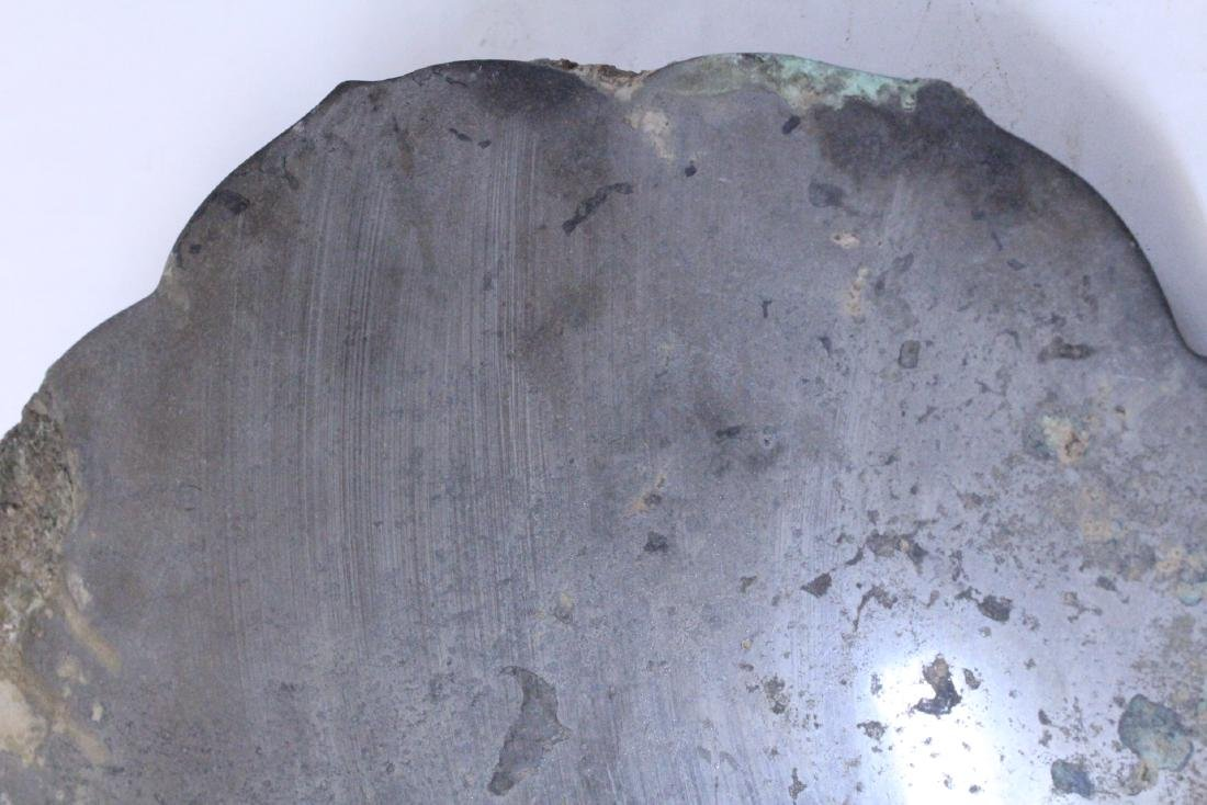 Large Chinese bronze mirror - 10