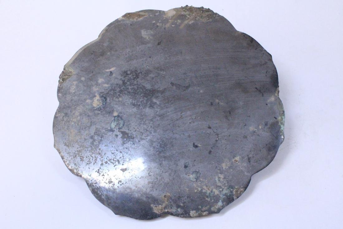 Large Chinese bronze mirror - 6