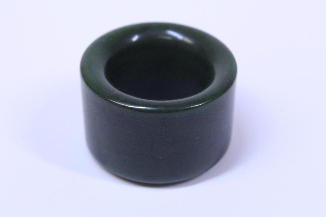 An archer's ring and dzi bead style bead - 3