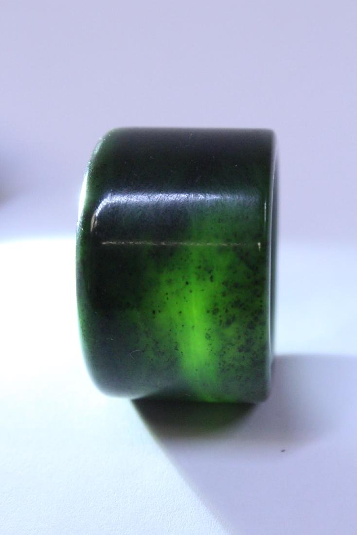 An archer's ring and dzi bead style bead - 5