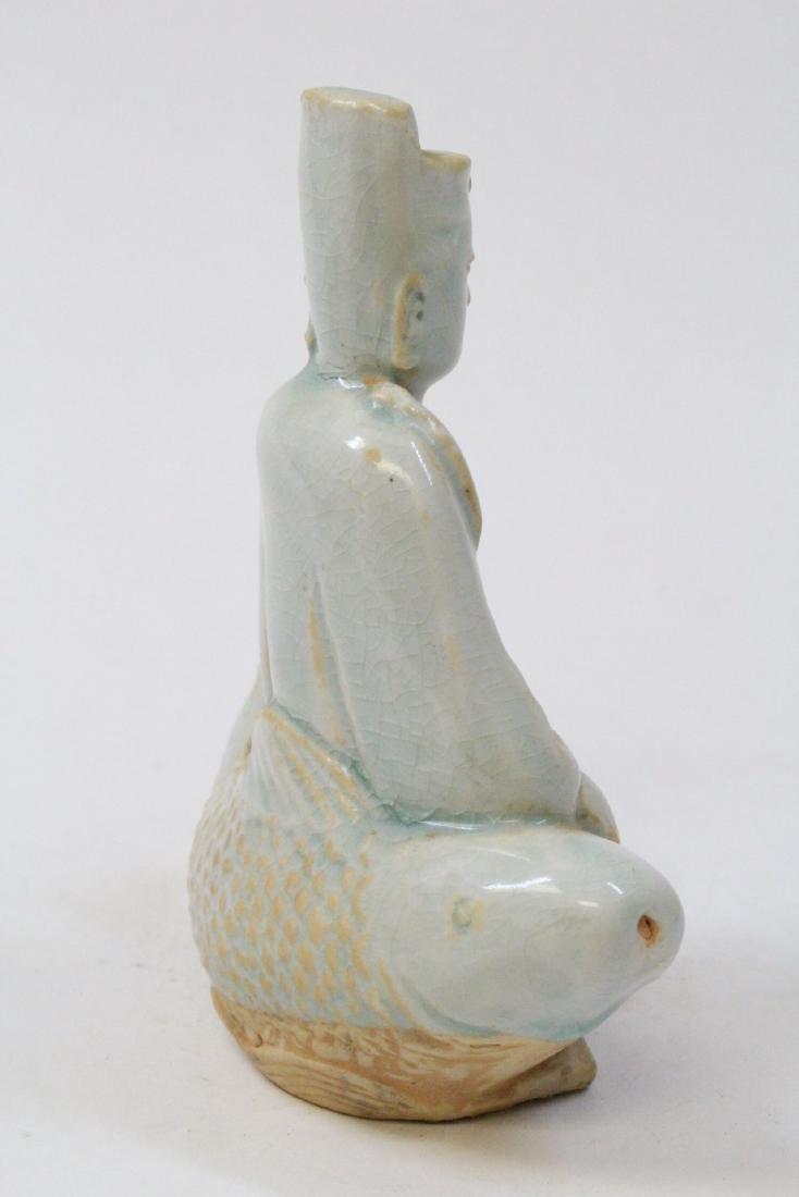 Chinese Song style celadon Buddha - 5