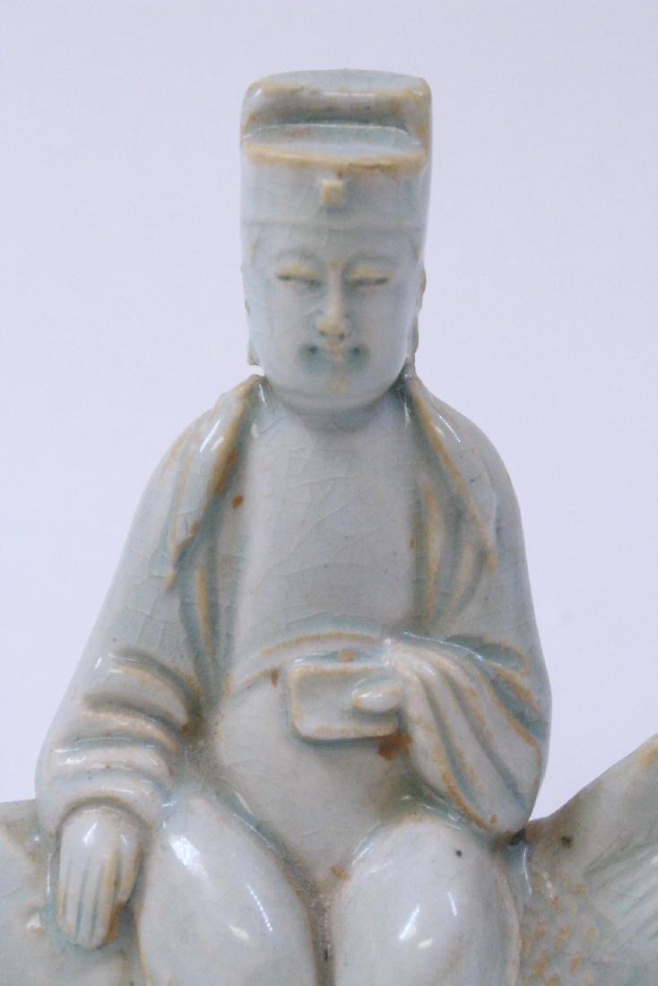 Chinese Song style celadon Buddha - 8
