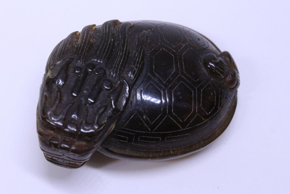 2 tortoise shell style items - 8
